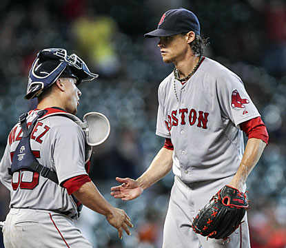 Clay Buchholz, who visits his home state, decimates the Astros with a complete game where he strikes out 12. (USATSI)