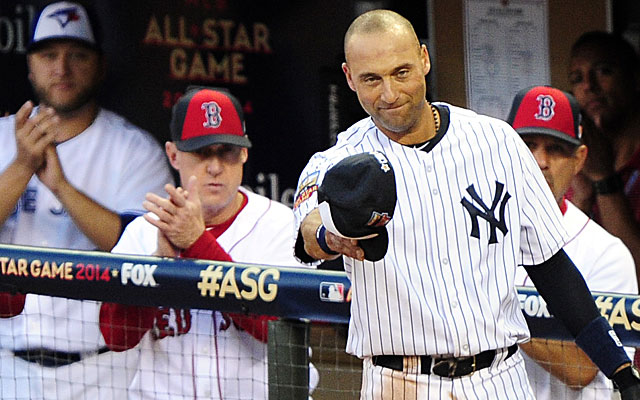Derek Jeter doubled and scored in the AL victory. (USATSI)