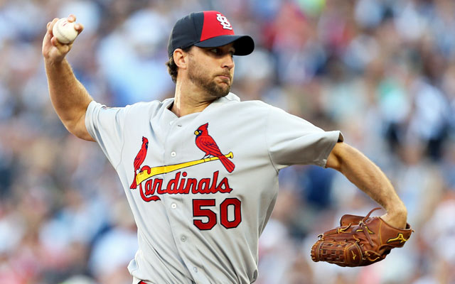 Adam Wainwright's arm apparently works better than his mouth. (USATSI)