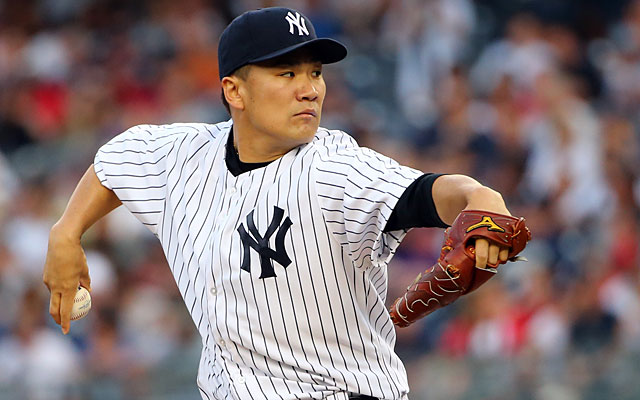 Masahiro Tanaka's awards chances are damaged by his injury-induced absence. (USATSI)