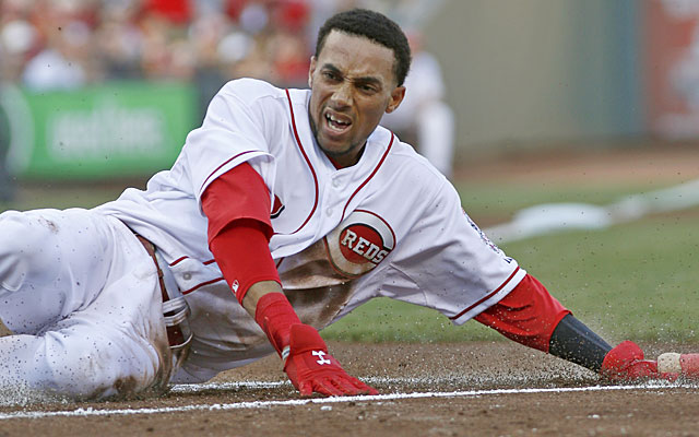 Billy Hamilton found his batting stroke, allowing him to become a weapon on the basepaths. (USATSI)