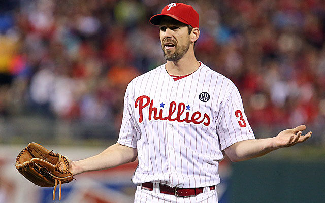 Is Cliff Lee on his way out of Philadelphia? (USATSI)