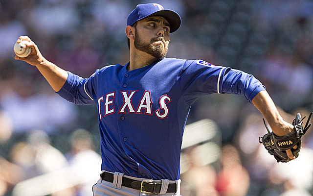 The Tigers have shown the most interest in Joakim Soria.  (USATSI)