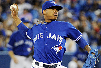 Jays rookie Marcus Stroman pitches seven shutout innings to stop a three-start winless streak. (USATSI)