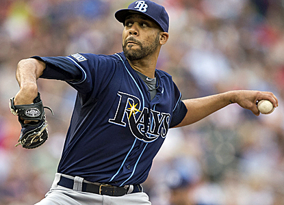 After pitching eight shutout innings, David Price has won five straight starts for the first time.  (USATSI)