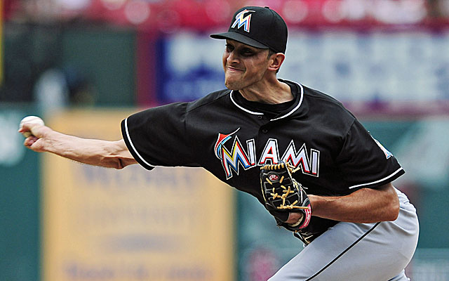 Miami closer Steve Cishek could be the top reliever on the trade market. (USATSI)