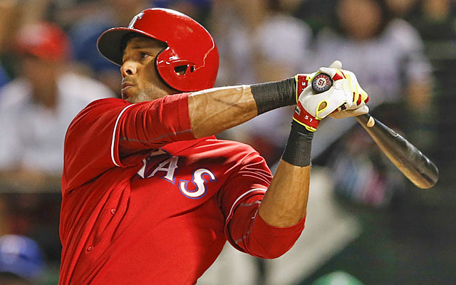 Alex Rios is on the radar for the Royals, who could have a host of corner outfielders to consider. (USATSI)