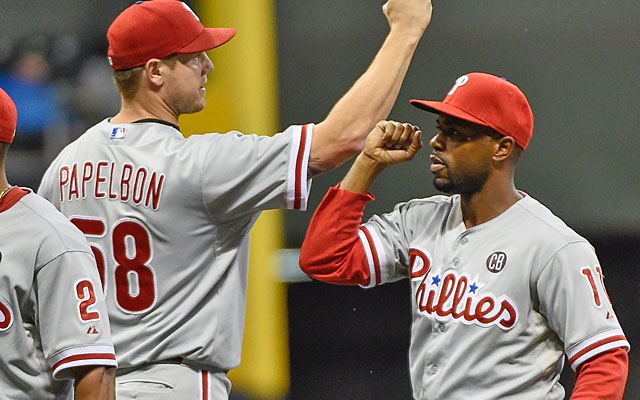 Jonathan Papelbon and Jimmy Rollins aren't what they once were, but they would help Detroit. (USATSI)