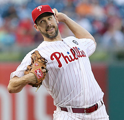 Cliff Lee, making his first start since May 18, yields six runs and 12 hits in a losing effort. (USATSI)