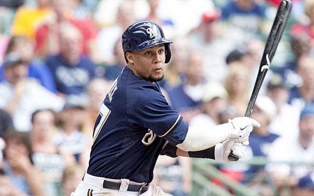 Twice-dealt Carlos Gomez didn't deliver on his potential until he settled into the Brewers outfield. (USATSI)