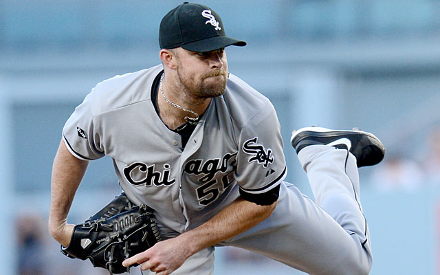 John Danks is pricey but could give the Yanks a needed lefty starter.