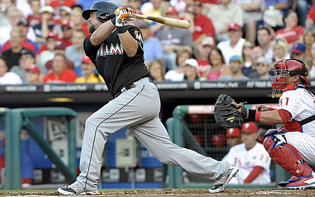 The Mariners are taking a look at Miami's Casey McGehee to supplement their lineup. (USATSI)