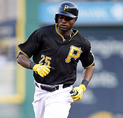 Gregory Polanco, hitting just .133 in the past 11 games, delivers for the Pirates with a solo shot and 3 RBI. (USATSI)