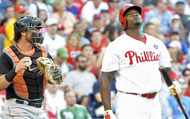 Ryan Howard's days in Philadelphia might be numbered. (USATSI)