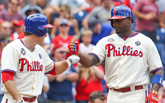 Ryan Howard's trade value is sinking with his poor output and the possibility of a winter release. (USATSI)