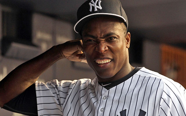 Alfonso Soriano struggled as a part-time starter for the Yankees before his release. (USATSI)