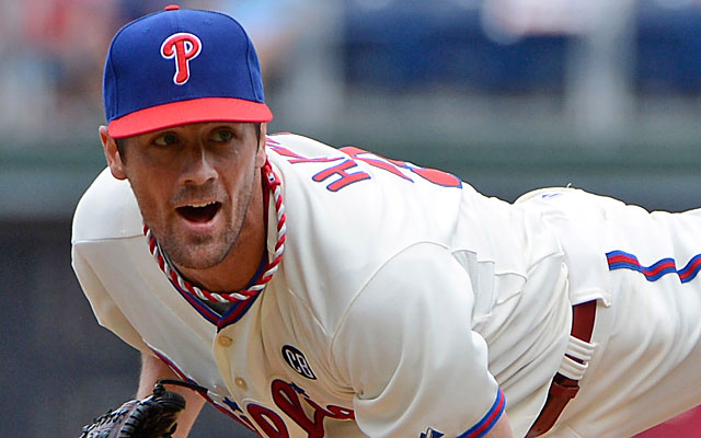 Cole Hamels is due $105 million through 2018 and has a $20 million option for 2019. (USATSI)