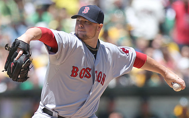The chances of Boston keeping Jon Lester long-term is looking low. (USATSI)