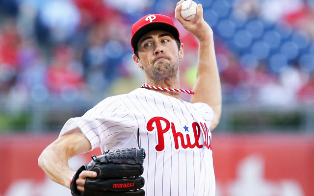 Cole Hamels is the Phillies' best trade asset. (USATSI)