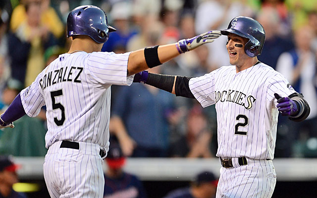 The Rockies will be looking to New York to move both Carlos Gonzalez and Troy Tulowitzki. (USATSI)