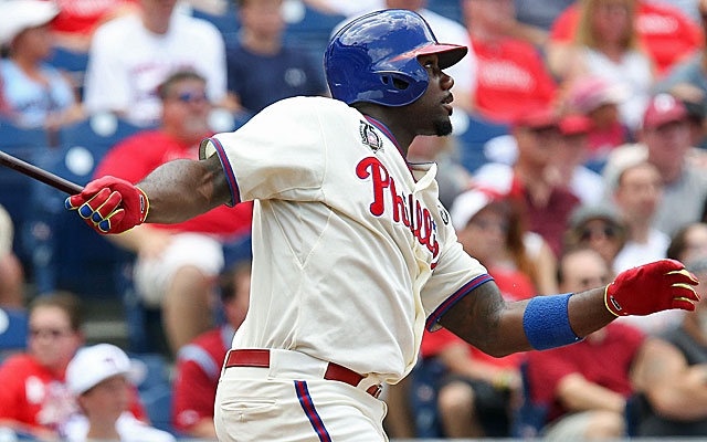 Will Ryan Howard have a new team? Not unless the Phillies include some major cash. (USATSI)