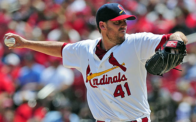 John Lackey paid off for the Cardinals with his Sunday victory over the first-place Brewers. (USATSI)