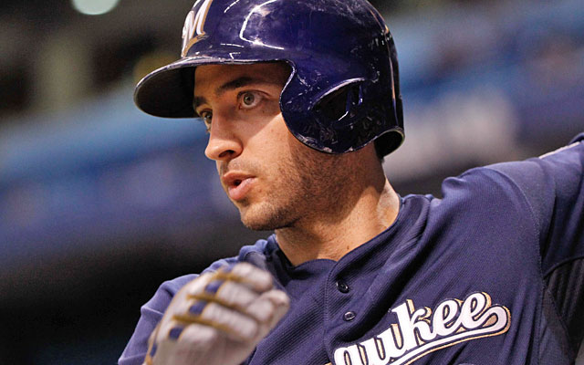 Ryan Braun was suspended for the final 65 games of the 2013 season for his Biogenesis ties. (USATSI)