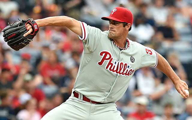 The Cubs claimed Cole Hamels off waivers and are looking to make a deal for the lefty. (USATSI)