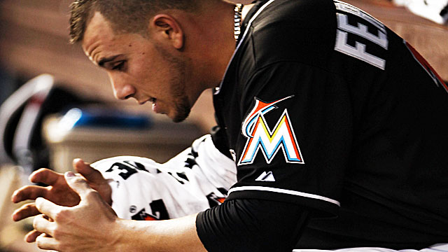 Jose Fernandez was on his way to a K/BB ratio of 5.38 before his Tommy John surgery. (Getty Images)