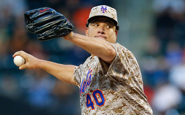 Bartolo Colon, who recently cleared waivers, might be a viable option for the Angels. (Getty Images)
