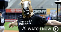 Shawn Kelley in Horse head