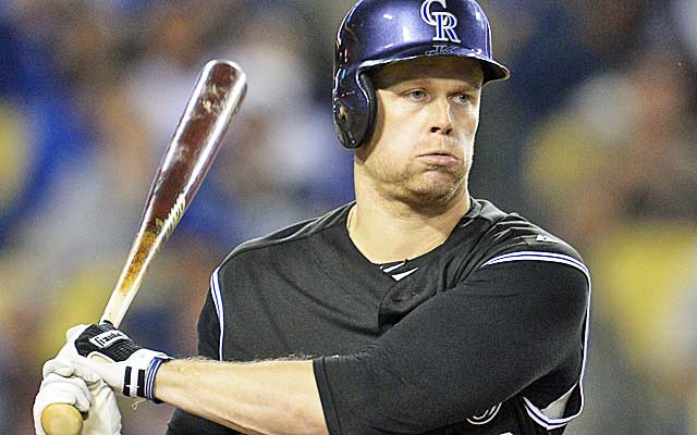 Justin Morneau is staying put in Colorado.(USATSI)