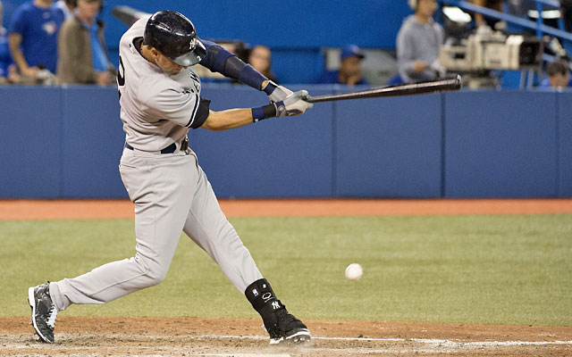 Derek Jeter's struggles at the plate should make the Yankees think twice about batting him No. 2. (USATSI)
