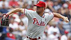 Combined no-no for Phils