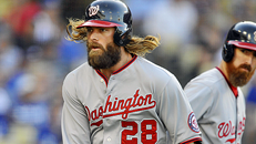 Nats defeat Dodgers