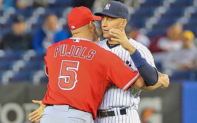 It's been a heck of a run for Albert Pujols and Derek Jeter. (USATSI)