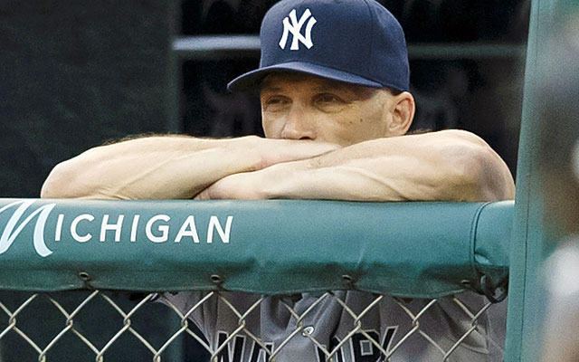 When it comes to the playoffs, Joe Girardi's Yankees appear to be on the outside looking in. (USATSI)