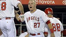 Angels first team in playoffs