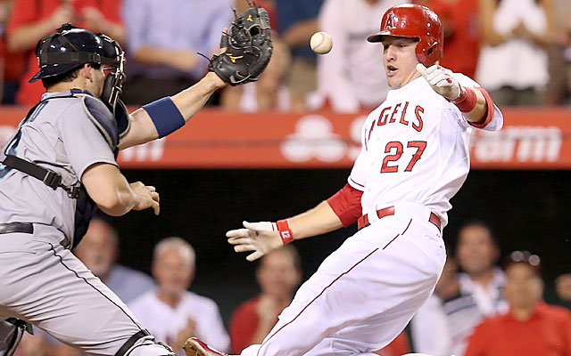 Angels become first team to clinch spot in 2014 postseason