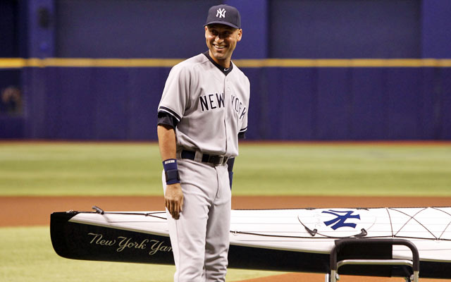 The gifts have been fun, but the numbers are ugly for Derek Jeter this season. (USATSI)