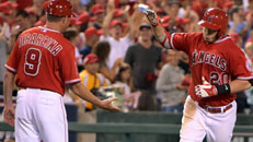 Angels clinch AL West