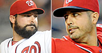 Tanner Roark and Gio Gonzalez (Getty)