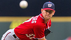 Strasburg a growing ace