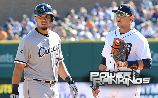 While Jose Abreu arrived as a feared slugger, Miguel Cabrera returns to the postseason. (Getty Images)