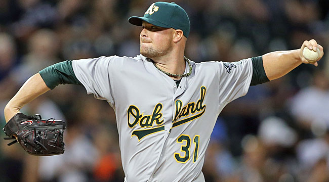 AL wild card: Lester the difference for A's?