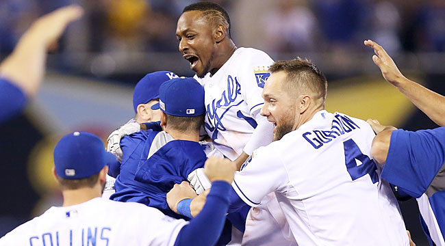Axisa: Royals use small ball to beat big-bat A's