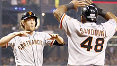 NL wild-card game: SF-PIT