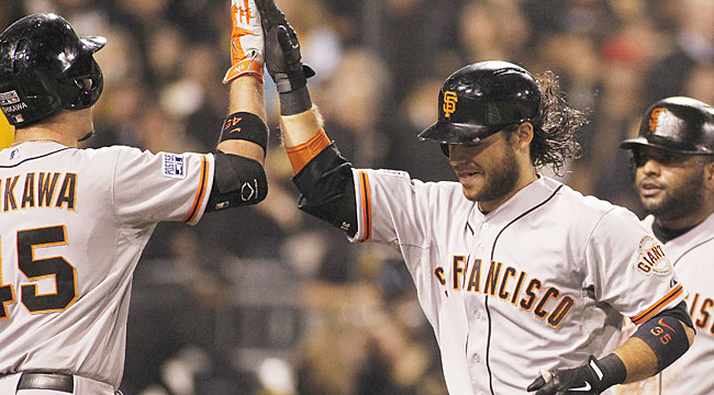 Crawford latest surprise playoff hero for Giants