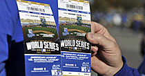 World Series tickets (screen shot)
