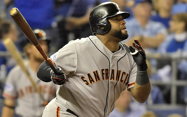 Pablo Sandoval could be a hot commodity after helping the Giants return to the World Series. (USATSI)